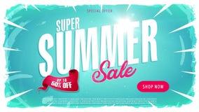 för Sale för sommar 4k mall video annons