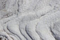 Is för salt vatten Nova Scotia Arkivbild