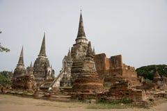 för san för ayutthayaphetphra thailand för tempel sri wat Royaltyfria Foton