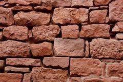 för sandstentextur för bakgrund gammal vägg Royaltyfri Bild
