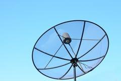 för satellitvektor för maträtt illustration isolerad white Arkivfoton