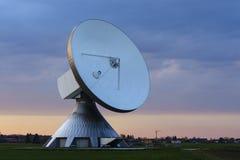 för satellitvektor för maträtt illustration isolerad white Fotografering för Bildbyråer