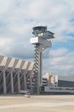 för schiphol för luftamsterdam kontroll internationell trafik torn Royaltyfri Bild