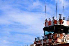 för schiphol för luftamsterdam kontroll internationell trafik torn Arkivbild