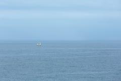 för seglinghav för liggande 3d ship Arkivfoto