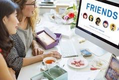 För serviceförälskelse för vänner bästa begrepp fotografering för bildbyråer