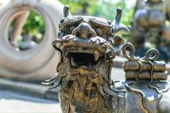 för sian för burichondrake tempel thailand staty Royaltyfri Bild
