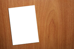 för sidawhite för bakgrund a4 trä Fotografering för Bildbyråer