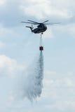 för Sikorsky CH-53 för Skurkroll-elevator lasthelikopter hingst hav Arkivbild