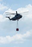 för Sikorsky CH-53 för Skurkroll-elevator lasthelikopter hingst hav Royaltyfri Fotografi
