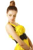 för sixtieskvinna för mode sexigt barn Royaltyfria Foton
