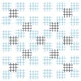 För slaglängdfyrkanter för bakgrund blå vit svart modell royaltyfri illustrationer