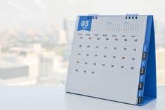 För slut kalender upp - av Maj Royaltyfri Fotografi