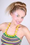 för sminkkvinna för coiffure idérikt barn Royaltyfri Bild