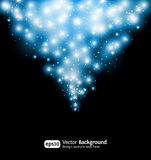 för snowstjärna för bakgrund eps10 vinter vektor illustrationer
