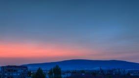 För soluppgång Arkivbilder