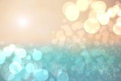 För sommarbokeh för abstrakt pastell kulör ljus bakgrund Begrepp vektor illustrationer