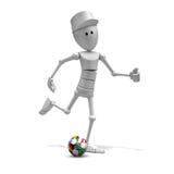 för spelarefotboll för 2010 kopp värld Arkivfoto