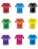 För sportwear för färgrikt foto realistisk vektor. Royaltyfri Fotografi