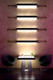 för stångdesign för atmosfär 3d förtrogen för interior Royaltyfri Bild
