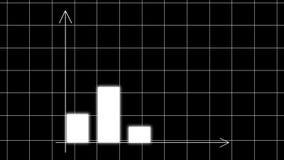 För stånggraf för affär futuristiskt diagram för diagram med pilaxel Aff?rsid? f?r tillv?xtdiagram vektor illustrationer