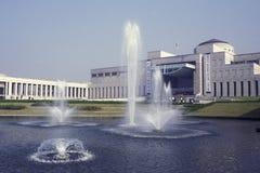 FÖR STADSKRIG FÖR SOUTHKOREA SEOUL MUSEUM FÖR MINNESMÄRKE arkivbild