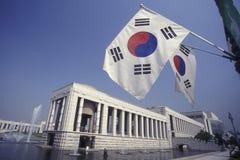 FÖR STADSKRIG FÖR SOUTHKOREA SEOUL MUSEUM FÖR MINNESMÄRKE royaltyfri foto
