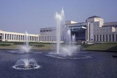 FÖR STADSKRIG FÖR SOUTHKOREA SEOUL MUSEUM FÖR MINNESMÄRKE royaltyfria foton