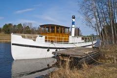 för steamboatthor för D s tappning Arkivbild