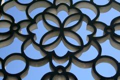 för stenstil för konst asiatisk vägg Royaltyfri Foto