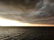 För stormen arkivfoton