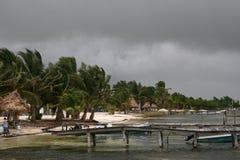 För stormen Arkivbilder