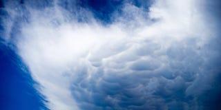 för stormmoln för tum 18x36 panorama Royaltyfria Bilder