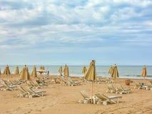 För strand landskap cloudly Royaltyfria Foton