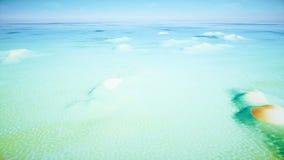 För strandsand för bästa sikt öar arkivfilmer