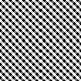 för svart seamless väv korsgingham för bakgrund Royaltyfri Bild