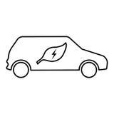 för symbolsillustration för bil eps10 vektor Fotografering för Bildbyråer