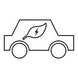 för symbolsillustration för bil eps10 vektor Royaltyfria Foton