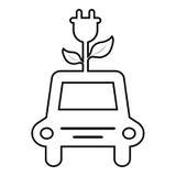för symbolsillustration för bil eps10 vektor Arkivfoton