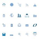 för symbolsinternet för kommers e rengöringsduk royaltyfri illustrationer