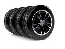 för symbolssport för bil 3d hjul Royaltyfria Bilder