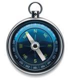 för symbolsvektor för kompass detaljerad xxl Fotografering för Bildbyråer