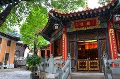 för taktaoist för forntida byggnader modernt tempel arkivbild