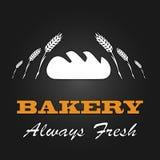 För tappningdesign för nytt bröd affisch för meny vektor Royaltyfri Bild
