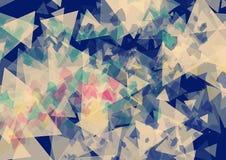 För tappningsignal för triangel rektangulär tapet Royaltyfri Foto