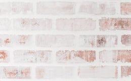 För tappningtegelstenar för närbild ljus bakgrund för vägg Hög upplösning Royaltyfri Fotografi