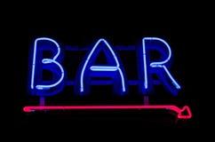 för teckenstadion för neon ny yankee Royaltyfria Foton