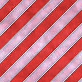 För tegelplattatextur för röd och vit randig torkduk sömlös bakgrund Arkivbilder