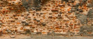 för tegelsten gammal för red vägg mycket india för agra fortport red Royaltyfri Fotografi