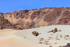 för tenerife för canadas kanariefågel del ö lasspain teide vulkan dal Royaltyfri Foto
